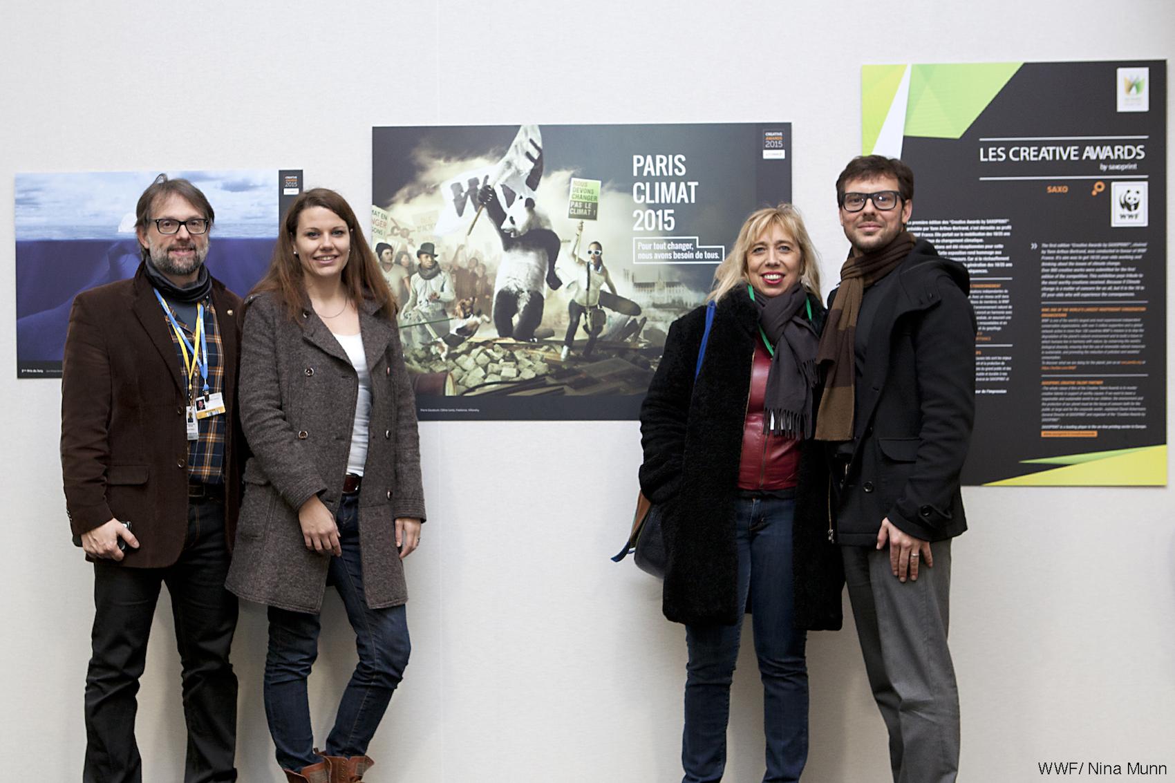 Vernissage de l'exposition à l'Orangerie
