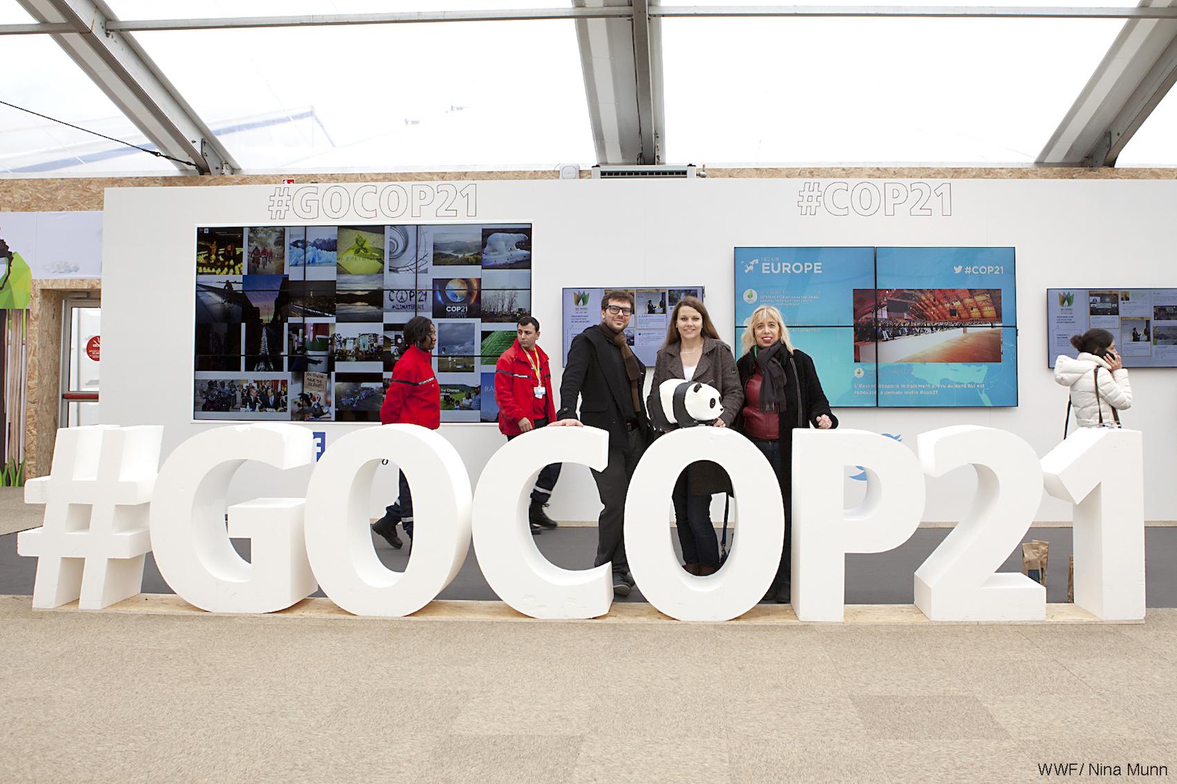 Exposition COP 21 pour WWF