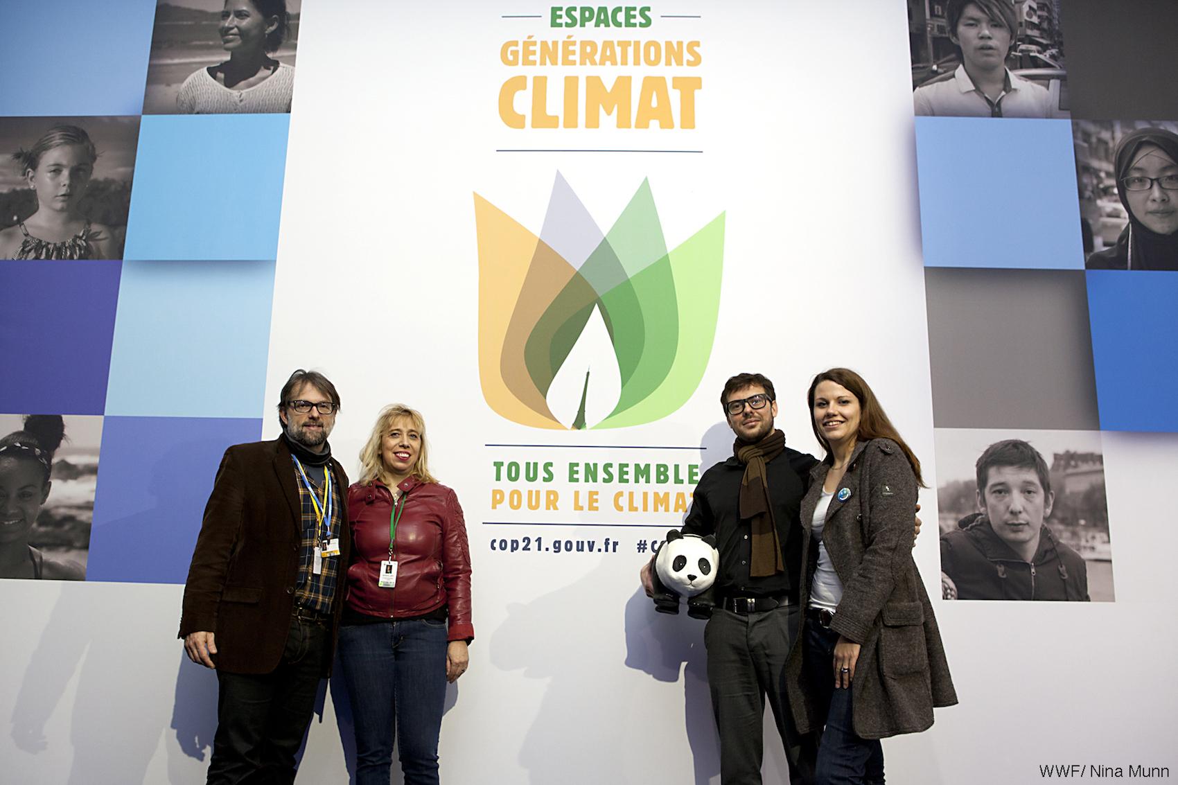 Espace génération climat COP 21