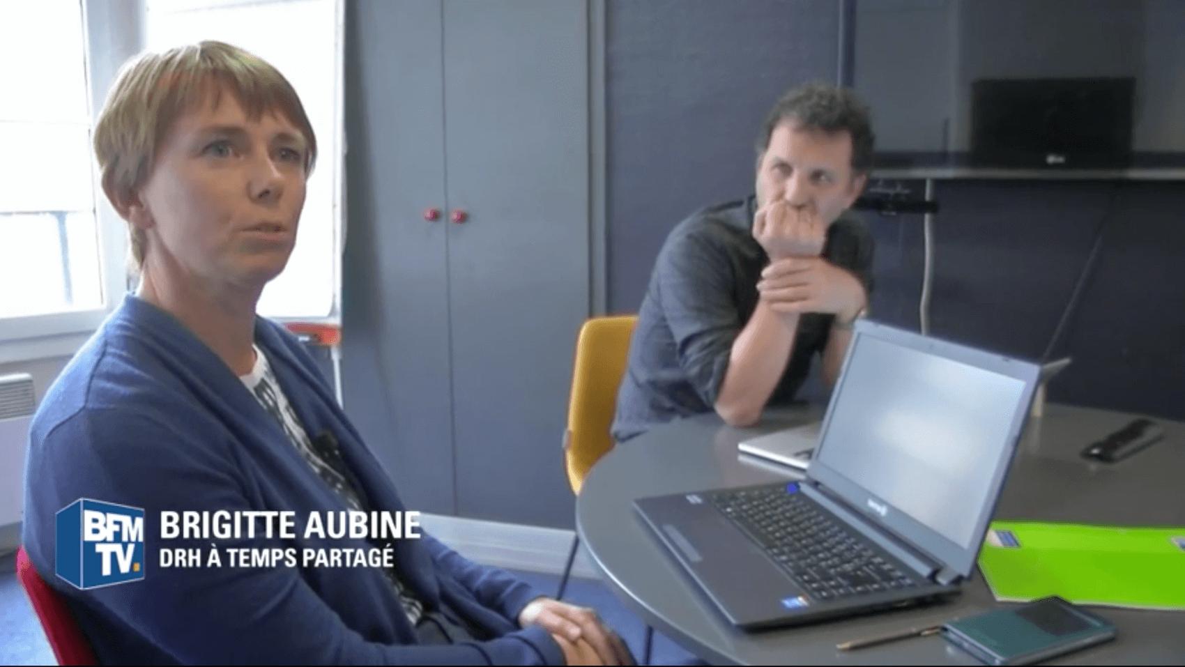 Brigitte Aubine, DRH à temps partagé