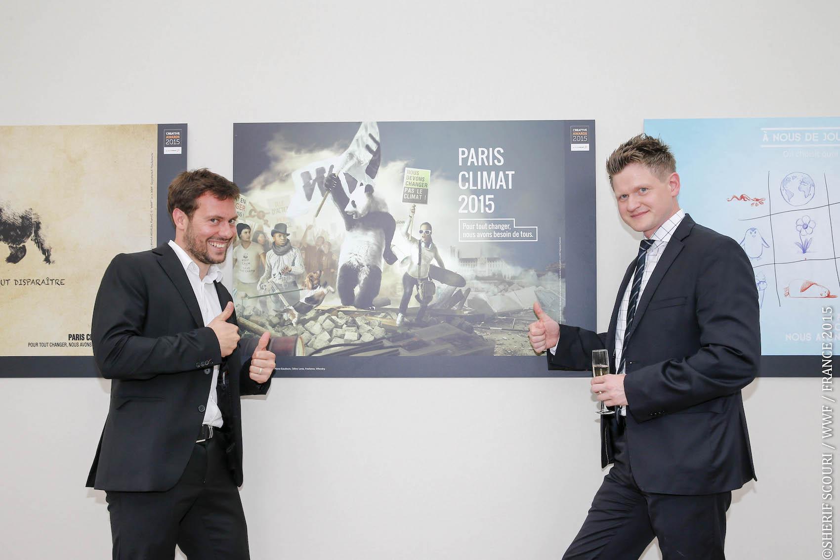 Exposition Paris Climat 2015 à l'Orangerie