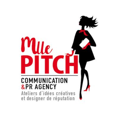 Mlle Pitch lance son site internet et dévoile son identité visuelle