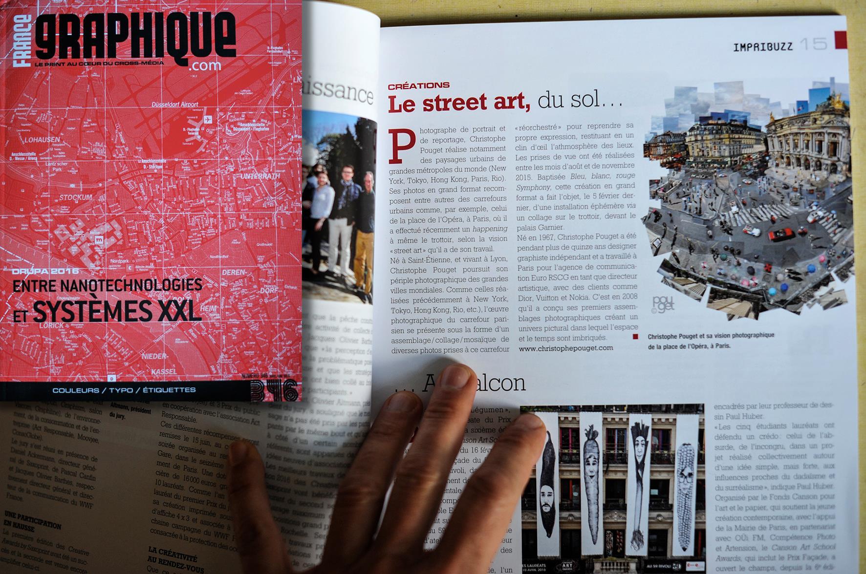 Parution d'un article dédié au projet In Situ dans France Graphique