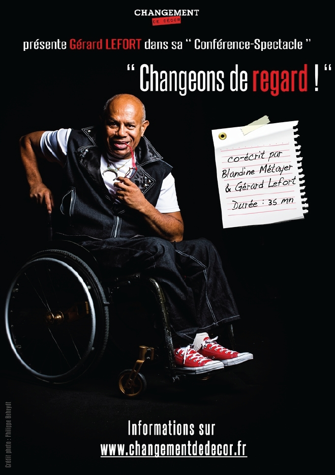 Conference spectacle changeons de regard