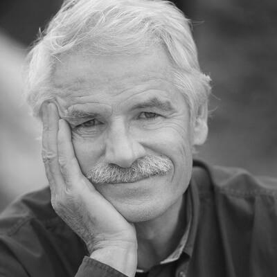 Portrait de Yann Arthus-Bertrand par Erwan Sourget