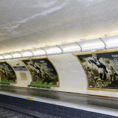 Campagne d'affichage Cop 21 «Pandarévolution» WWF France