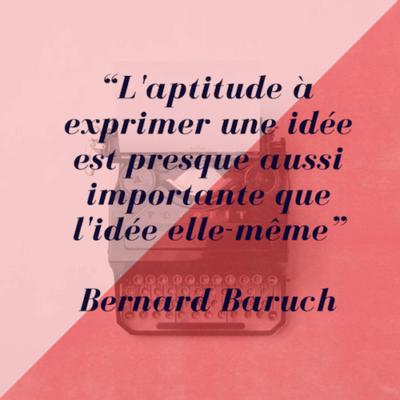Citation de Bernard Baruck