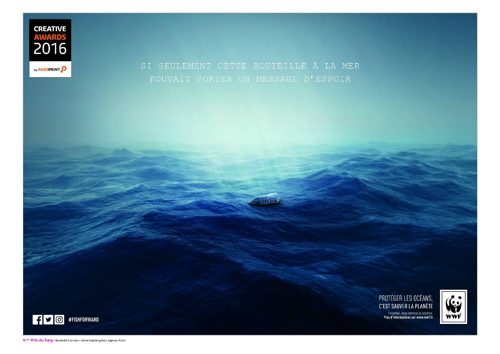 Concours Grande Cause Bouteille à la mer