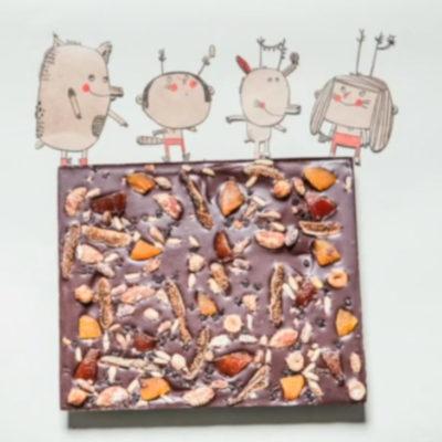 Vidéo digitale du coffret chocolats de Noël pour Ducasse