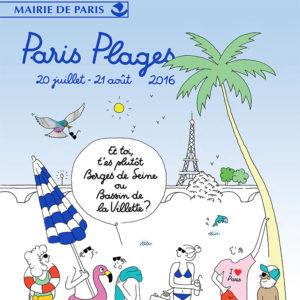 Relations publiques pour WWF / Saxoprint sur Paris Plages 2016