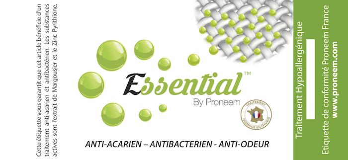label Essential by Proneem