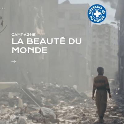 Campagne de collecte décembre 2016 Médecins du Monde