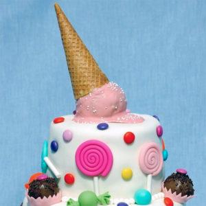 Gâteau d'anniversaire en bonbon