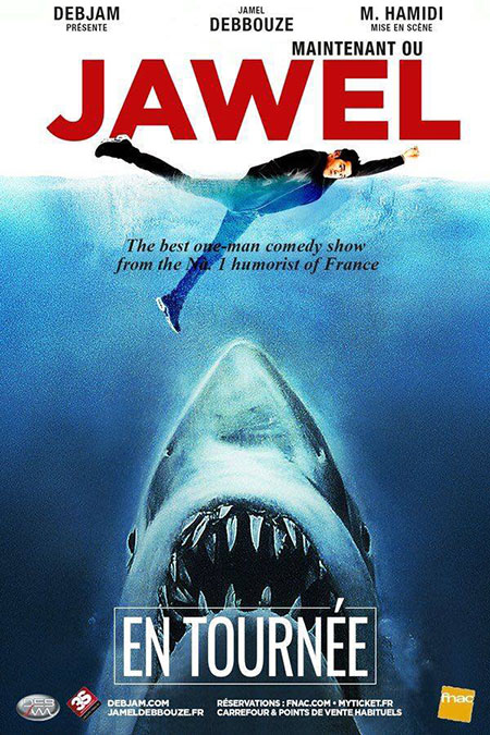 Jawel - affiche les dents de la mer