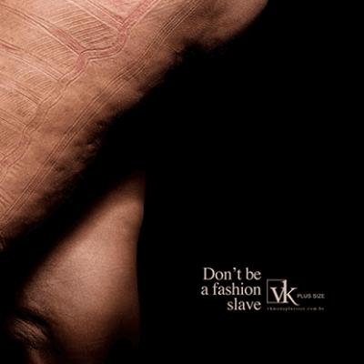 Don't be afashion slave