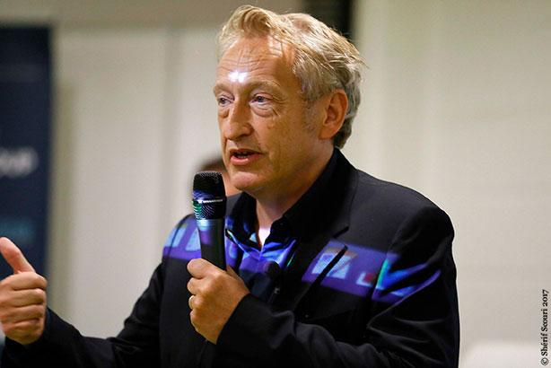 Pascal Grégoire président de l'agence la Chose