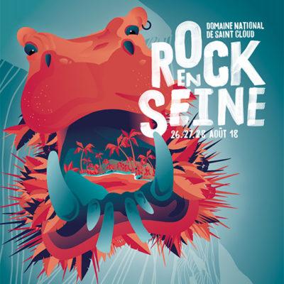 Campagnes pub 360°, workshop summer festival e.artsup pour «Rock en Seine»