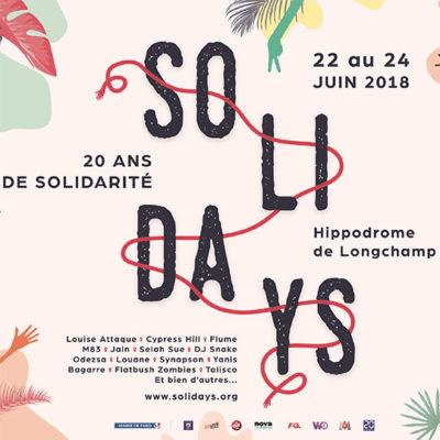 Workshop créatif e.artsup 2017 pour «Solidays»