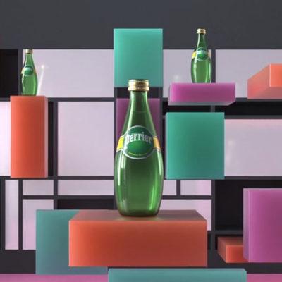 L'iconique bouteille de Perrier dans tous sesétats!