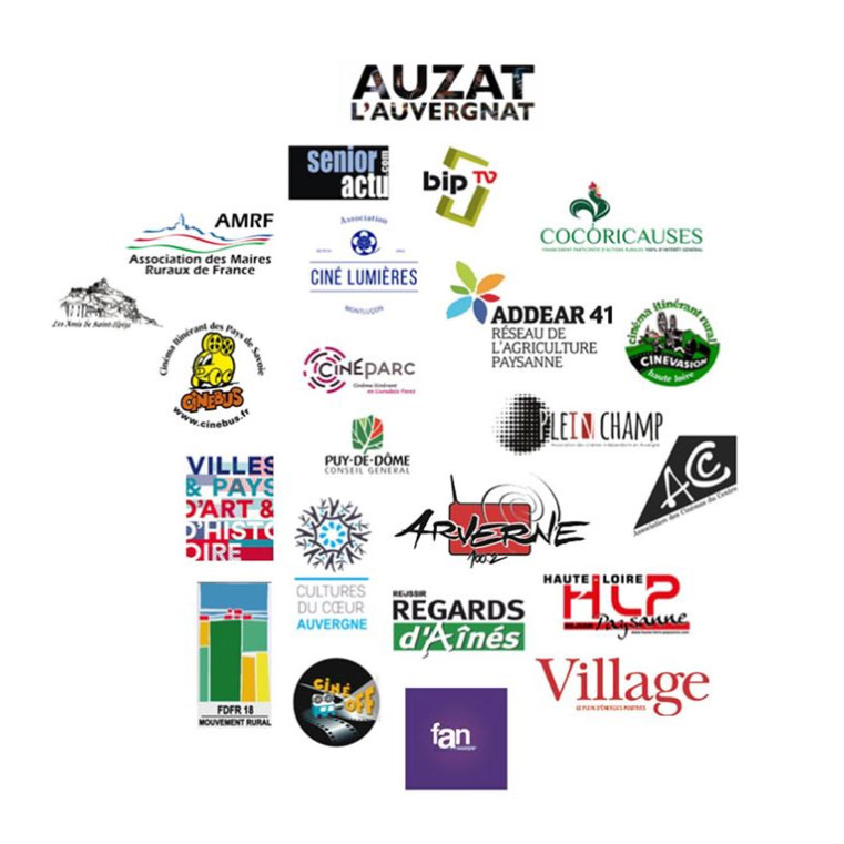 logotypes des soutiens