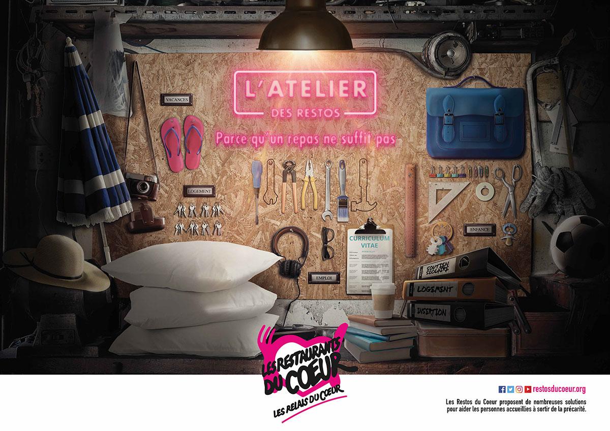 «L'Atelier des Restos» élu prix public Grande Cause Creative Awards 2018