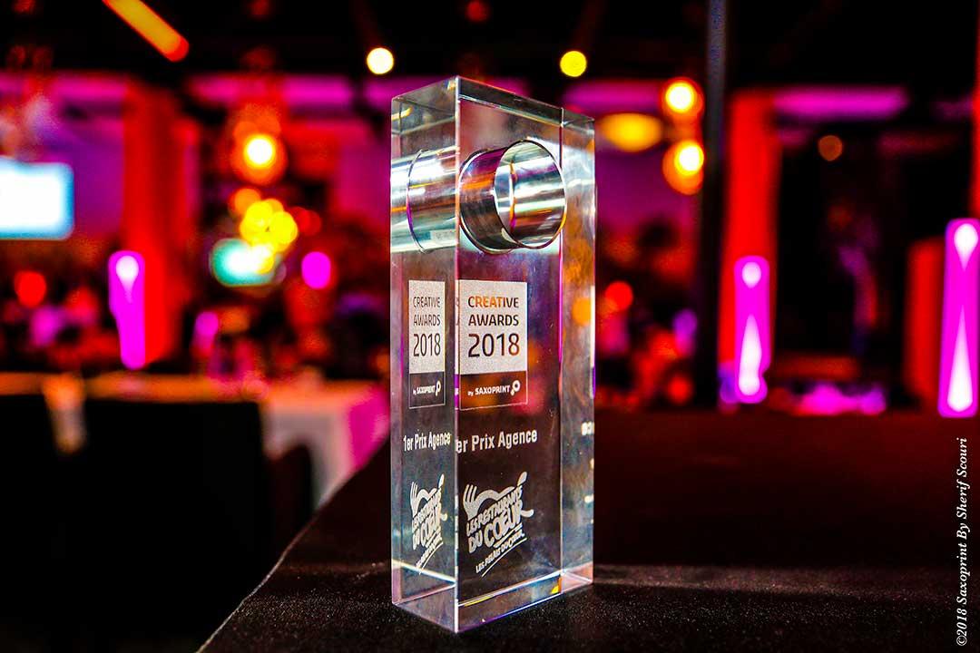 Cérémonie de remise de Prix Creative Awards 2018