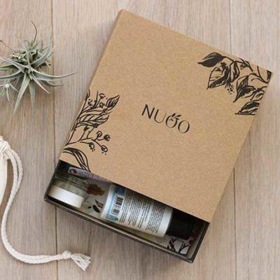 Mlle Pitch accompagne les relations medias et influenceurs annuelles des Beauty Box bio NUOO