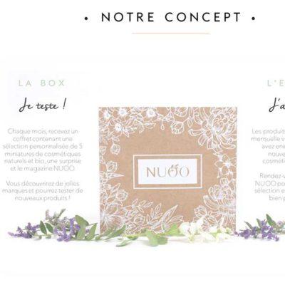L'e-shop beauté bio Nuoo confie son image àl'agence Mlle Pitch!