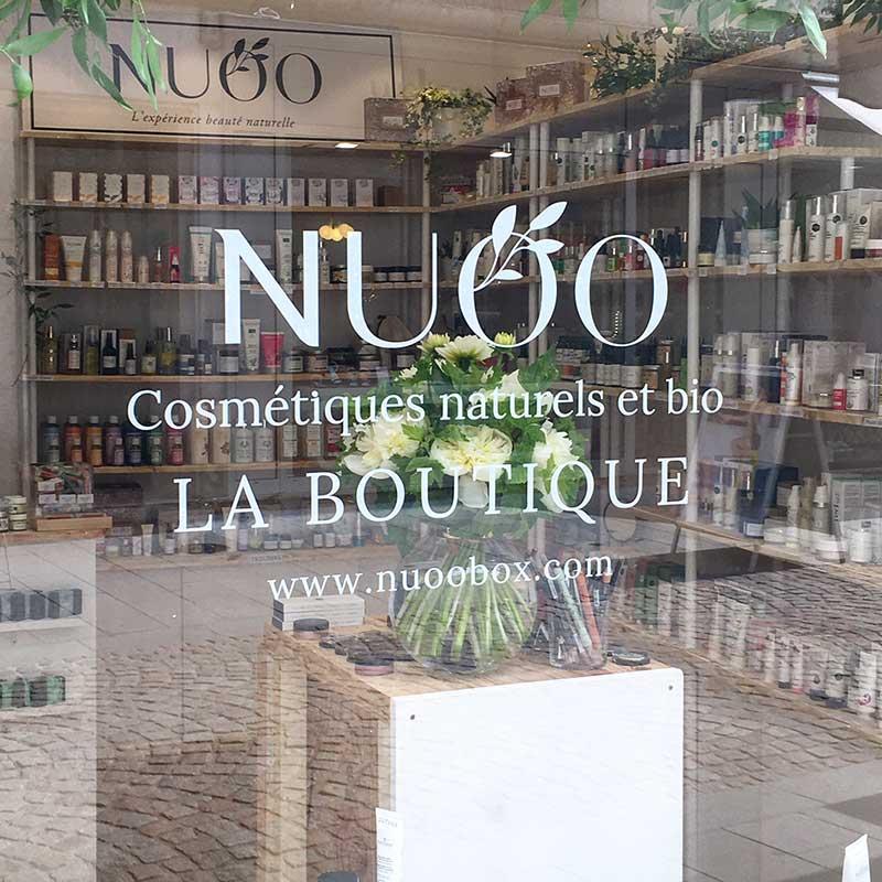 L'e-shop beauté bio Nuoo soigne son image