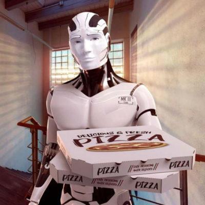 Mlle Pitch lance Pazzi le premier restaurant robot-pizza français!