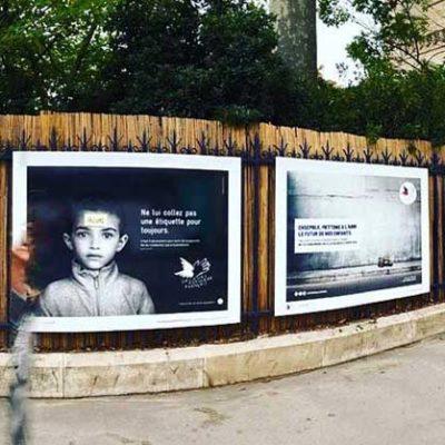 Les Creative Awards s'affichent Tour Saint-Jacques àParis