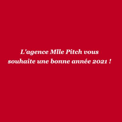 Mlle Pitch vous dévoile ses nouveaux projets de2021!
