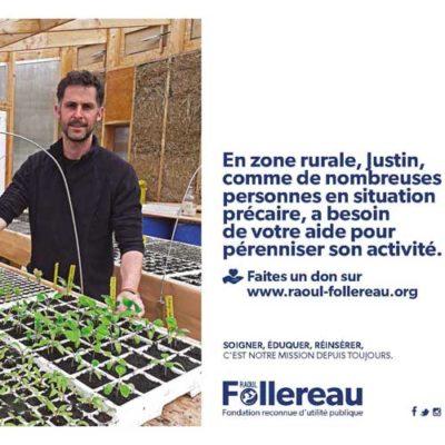 Campagne pub ruralité fondation Raoul Follereau