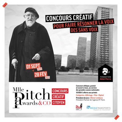 Mlle Pitch awards &co: concours créatif pour faire résonner la voix des sansvoix